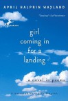 Girl Coming in for a Landing: A Novel in Poems - April Halprin Wayland, Elaine Clayton