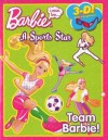 Barbie a Sports Star 3D Picture Story - Mattel