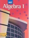 Holt Algebra 1, Teacher's Edition - Edward B. Burger, David J. Chard, Earlene J. Hall, Paul A. Kennedy, Steven J. Leinwand, Freddie L. Renfro, Dale G. Seymour, Bert K. Waits