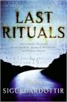 Last Rituals - Yrsa Sigurðardóttir, Bernard Scudder