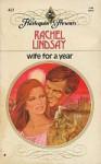 Wife for a Year - Rachel Lindsay