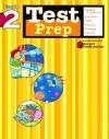 Test Prep: Grade 2 (Flash Kids Harcourt Family Learning) - Flash Kids Editors