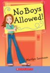 No Boys Allowed - Marilyn Levinson