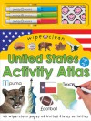 Wipe Clean United States Activity Atlas - Roger Priddy