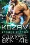 Kozav (Scifi Alien Romance) (Dragons of Preor Book 3) - Celia Kyle, Erin Tate