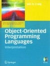 Object-Oriented Programming Languages: Interpretation - Iain D. Craig