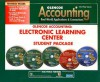 Glencoe Accounting First-Year Course: Electronic Learning Center Student Package - Glencoe/McGraw-Hill