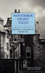 November Night Tales - Henry Chapman Mercer, Cory Amsler