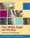 The Write Start: Sentences to Paragraphs, with Readings - Lawrence Checkett, Gayle Feng-Checkett