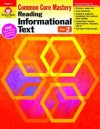 Reading Informational Text: Common Core Mastery, Grade 2 - Evan-Moor Educational Publishers