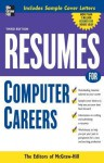 Resumes for Computer Careers - McGraw-Hill Publishing