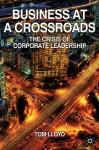 Business at a Crossroads - Tom Lloyd