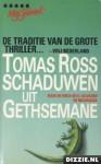 Schaduwen uit Gethsemane - Tomas Ross
