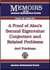 A Proof of Alon's Second Eigenvalue Conjecture and Related Problems - Joel Friedman