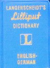 Langenscheidt Lilliput Dictionary English/German - Langenscheidt