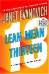 Lean Mean Thirteen - Janet Evanovich
