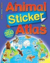 Animal Sticker Atlas - Anthony Lewis