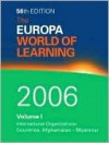 The Europa World of Learning 2006 - Europa Publications