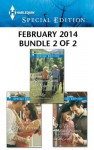 Harlequin Special Edition February 2014 - Bundle 2 of 2: A Sweetheart for Jude FortuneReuniting with the RancherThe Doctor's Former Fiancee - Cindy Kirk, Rachel Lee, Caro Carson