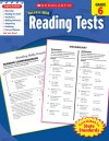 Scholastic Success With Reading Tests, Grade 6 - Scholastic Inc., Scholastic Inc.