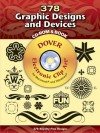 380 Graphic Designs and Devices CD-ROM and Book - Dover Publications Inc.