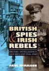 British Spies and Irish Rebels: British Intelligence and Ireland, 1916-1945 - Paul McMahon