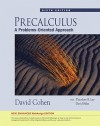 Precalculus: A Problems-Oriented Approach [With Access Code] - David W. Cohen, David Sklar, Lee B. Theodore