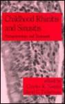Childhood Rhinitis and Sinusitis: Pathophysiology and Treatment - C.K. Naspitz
