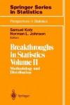 Breakthroughs in Statistics, Volume 2: Methodology and Distribution - Samuel Kotz, Norman Lloyd Johnson
