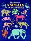 Animals Cut & Use Stencils - Ellen Sandbeck