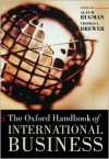 The Oxford Handbook of International Business - Thomas L. Brewer