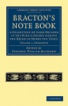 Bracton's Note Book: A Collection of Cases Decided in the King's Courts during the Reign of Henry the Third (Cambridge Library Collection - Medieval History) - Henry de Bracton, Frederic William Maitland