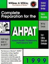 Complete Preparation for the Ahpat: 1999 Edition - Lippincott Williams & Wilkins
