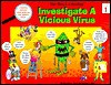 Five Kids & A Monkey Investigate a Vicious Virus (Five Kids & a Monkey, Series 1) - Nina M. Riccio