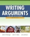 Writing Arguments: A Rhetoric with Readings, Brief Edition - John D. Ramage, John C. Bean, June Johnson