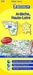 Michelin Map France: Ardche, Haute-Loire 331 - Michelin Travel Publications