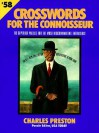Crossword Puzzles for the Connoisseur 58 - Charles Preston