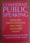 Confident Public Speaking - Christian Godefroy, Stephanie Barrat-Godefroy, Stephanie Barrat
