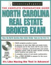North Carolina Real Estate Broker Exam [With CDROM] - Learning Express LLC