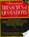 The International Thesaurus of Quotations: Revised Editon - Eugene Ehrlich