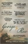 George and Rue: A Novel - George Elliott Clarke