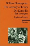 Die Komödie Der Irrungen / The Comedy Of Errors - Walter Pache, William Shakespeare