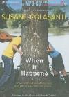 When It Happens - Susane Colasanti