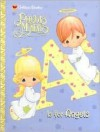 A Is for Angels (Precious Moments Golden Books) - Linda Masterson, Samuel J. Butcher