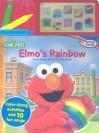 Elmo's Rainbow: Color Along Sound Activity Book [With Soudboard] - Publications International Ltd.