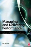 Managing and Delivering Performance - Bernard Marr