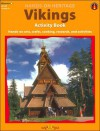 Vikings Activity Book: Hands-on Arts, Crafts, Cooking, Research, and Activities (Hands-on Heritage Series) - Mary Jo Keller, John Carrozza