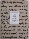 List do Marc Chagalla - Marc Chagall, Jerzy Ficowski