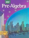 Holt Pre-Algebra - Jennie M. Bennett, David J. Chard, Audrey L. Jackson