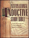 The International Inductive Study Bible: Iisb, New American Standard - Anonymous